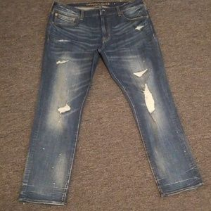American eagle slim flex jeans